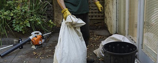 Fantastic Gardeners performing green waste removal in Melbourne